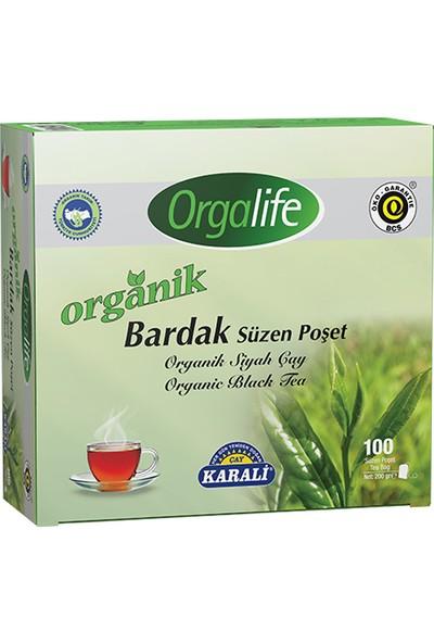 Orgalife Organik Bardak Poşet Siyah Çay 100'lü