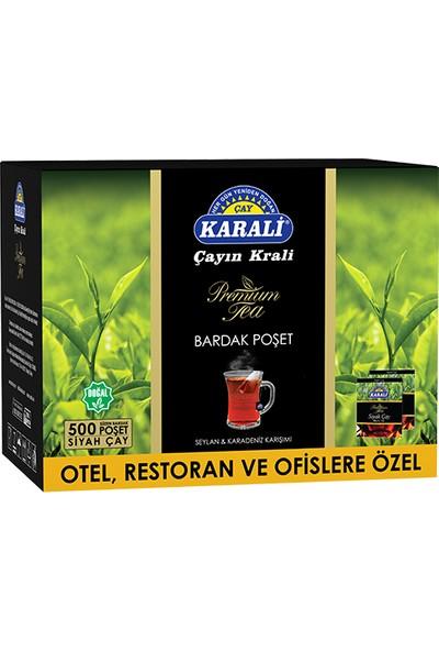 Premium Bardak Poşet Siyah Çay 500'lü