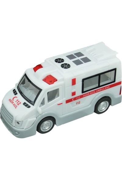 Birlik Oyuncak Sürtmeli Ambulans