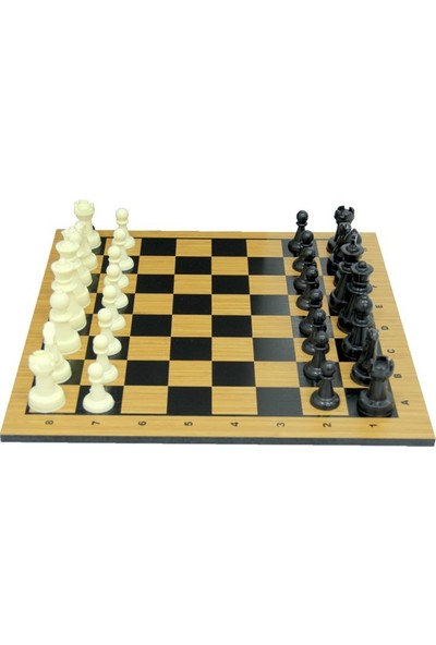 Güçlü Plastik Satranç Oyunu