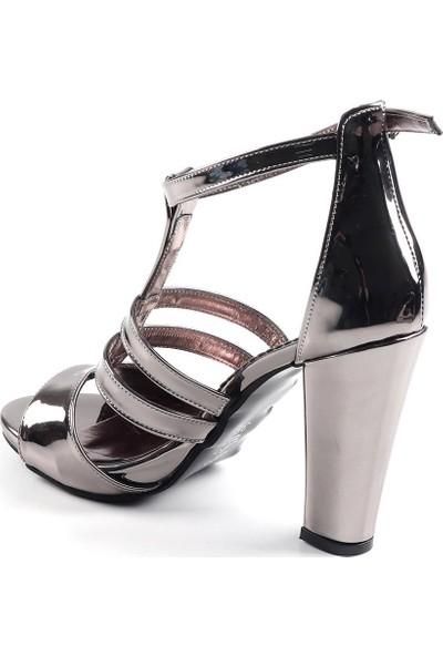 Föz Füme Kadın Topuklu Ayakkabı