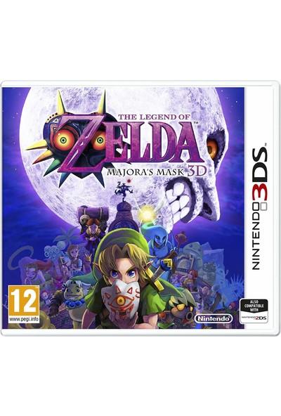 The Legend Of Zelda Majora's Mask 3D Nintendo 3DS Oyun