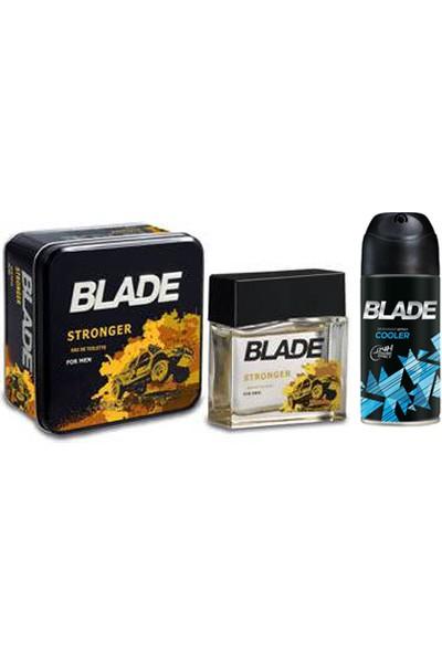 Blade Man Stronger Erkek Parfüm Edt 100 ml ve Deodorant Set