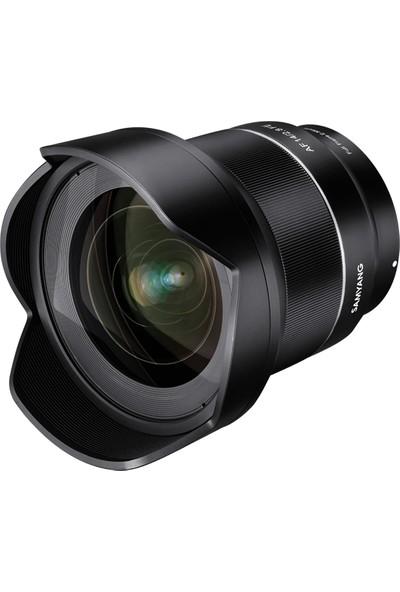Samyang Af 14Mm F/2.8 Fe Lens (Sony E Mount Uyumlu)