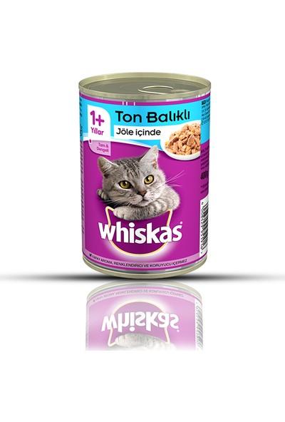 Whiskas Ton Balıklı Konserve Kedi Maması 400 Gr x 12 Adet