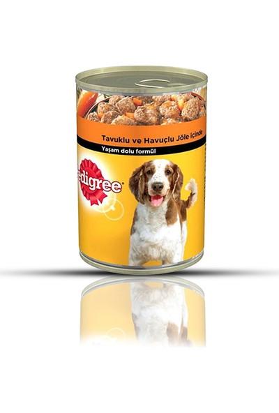 Pedigree Tavuklu Konserve Köpek Maması 400 gr (12 Adet)