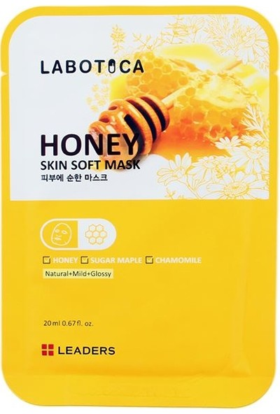 Leaders Labotica Skin Soft Mask Honey