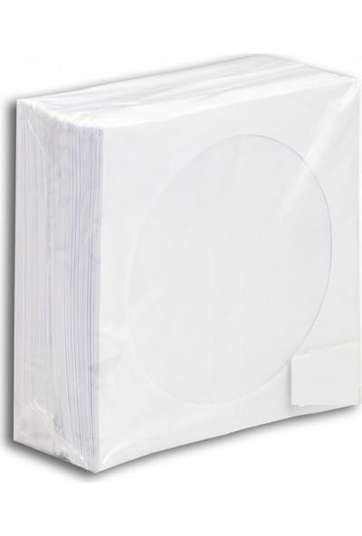 Decodi̇sk CD Zarfi 100 Lu Beyaz