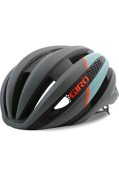 Giro Synthe Mips Bisiklet Kask Mat Kömür Donuk Mavi