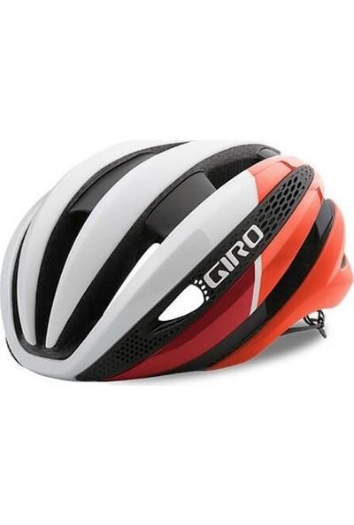 Giro Synthe Mips Bisiklet Kask Mat Beyaz Kırmızı