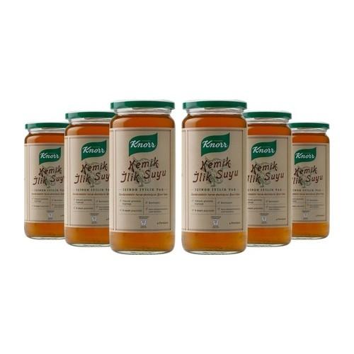 Knorr Cam Kemik İlik Suyu 6'lı Paket