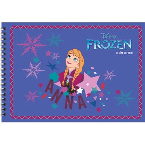 Frozen 17*25 15 Yp.Resim Defteri