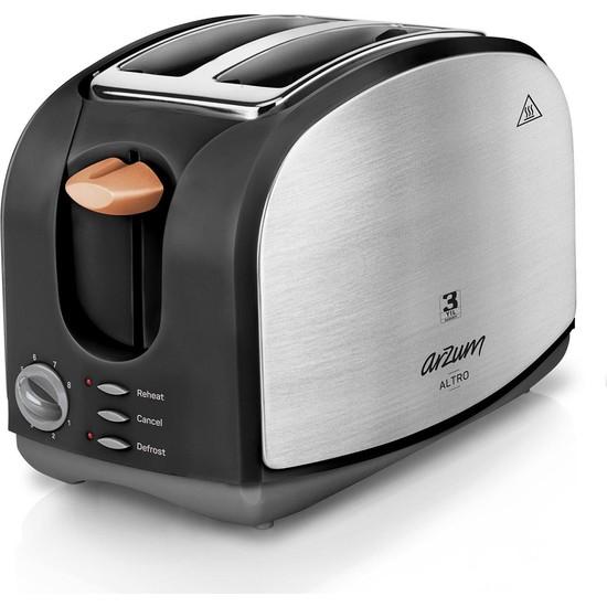 Arzum AR2014 Altro Ekmek Kızartma Makinesi - Siyah