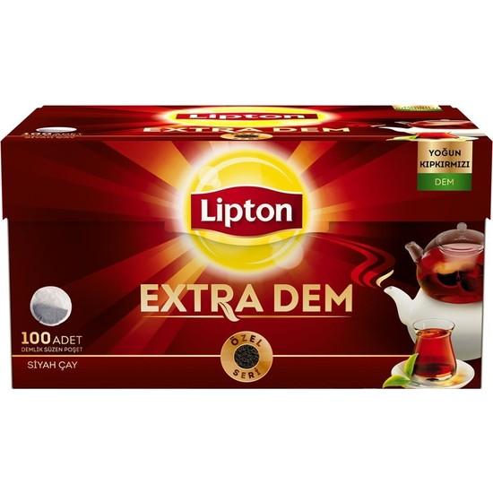 Lipton Extra Dem Demlik Poşet Çay 100'lü