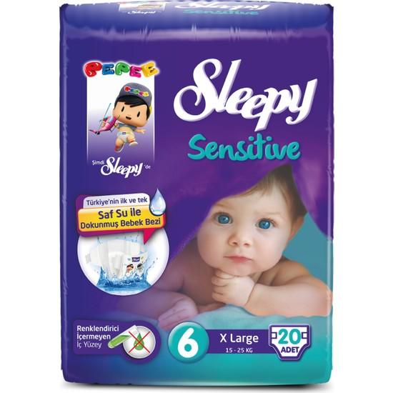 Sleepy Sensitive Xlarge Pepee 20 Adet (15-25 Kg)