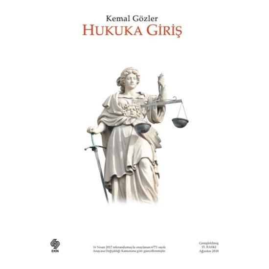 Hukuka Giriş - Kemal Gözler