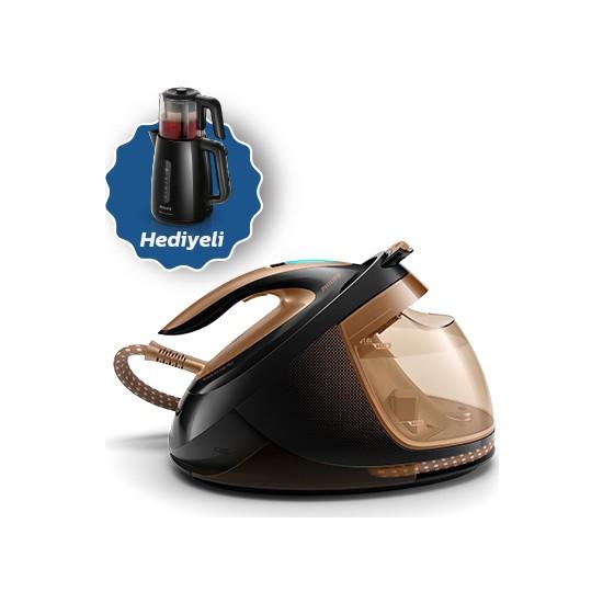 Philips PerfectCare Elite Plus GC9682/80 Buhar Kazanlı Ütü + HD7301 Philips Çaycı