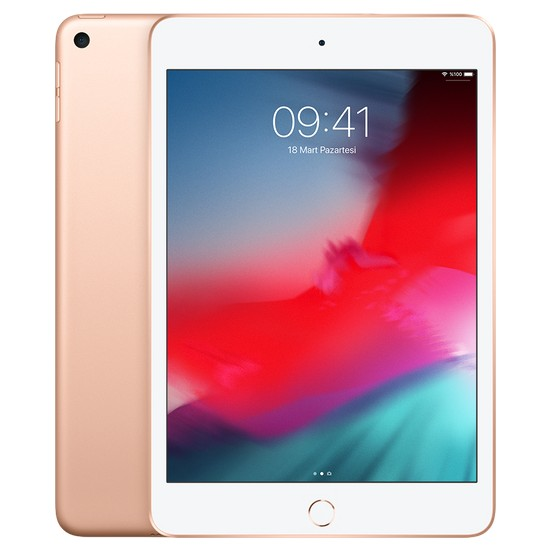 """Apple iPad Mini 64GB 7.9"""" Wi-Fi Retina Tablet - Altın MUQY2TU/A"""