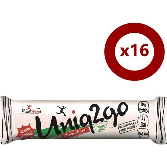 Uniq2go Choco Light Bar 16'lı Kutu