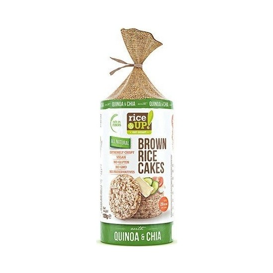 Rice Up Quinoa & Chai 120Gr