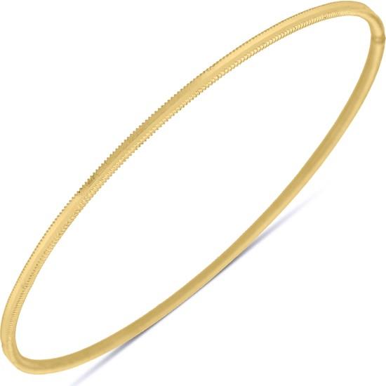Altında Fırsat 8 gram 22 ayar Altın Oluklu Ajda Bilezik