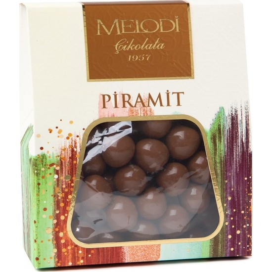 Melodi Çikolata Sütlü Çikolatalı Fındık Draje - 250gr