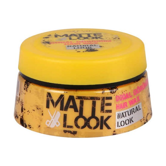 Matte Look Doğal Görünüm Wax 100 ML