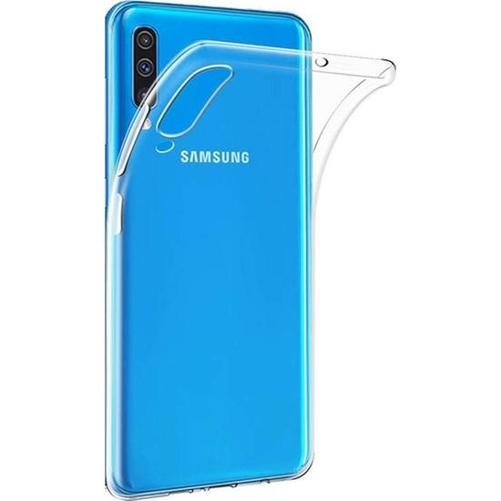 Cepaksesuarcim Samsung Galaxy A70 Premium Şeffaf Silikon Kılıf