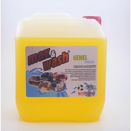 Max&Wash Genel Temizlik Ve Döşeme Temizleyici 5 Kg
