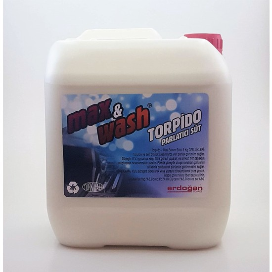 Max&Wash Torpido Tampon Parlatıcı Süt