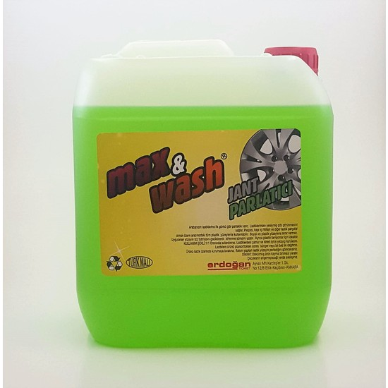 Max&Wash Jant Parlatıcı Ve Temizleyici 5 Kg 1/1 Kullanım