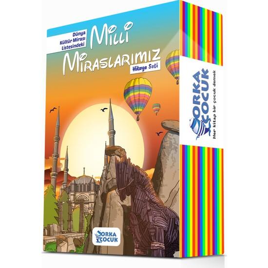 Orka Çocuk 3. ve 4. Sınıflar İçin Milli Miraslarımız Hikaye Seti 10 Kitap