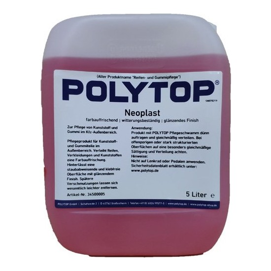 Polytop Neoplast Lastik Parlatıcı 5lt.