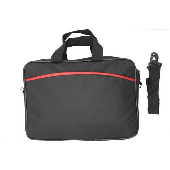 Delta 15.6 İnç Si̇yah Çi̇ft Cep Laptop Çanta Askilikli | JT-15534