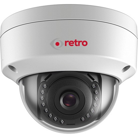 Retro Rt-2Cd1141 4.0Mp 2.8Mm Lens Poe Ip Dome Kamera