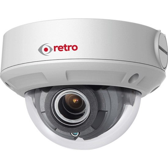 Retro Rt-2Cd1721 2.0Mp 2.8Mm Lens Poe Ip Dome Kamera