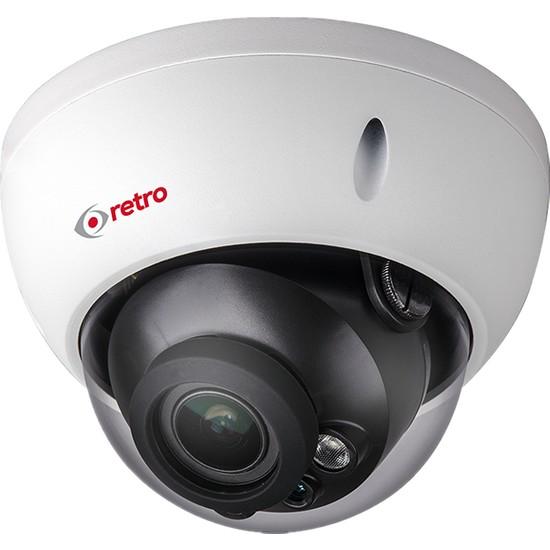 Retro Rd-2221Rp-D 2Mp 2.7-12Mm Lens Motorize 30Mt Ir Dome Ip Kamera