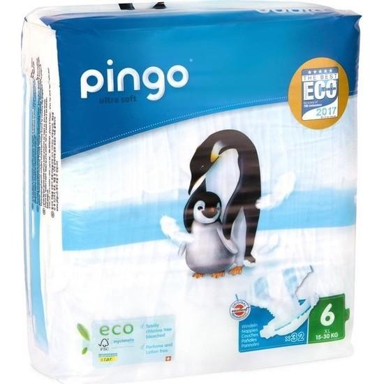 Pingo No:6 Xl Ekolojik Bebek Bezi 32 Adet
