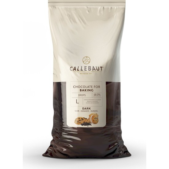 Callebaut Pişebilen Bitter Drop Çikolata - 10 kg