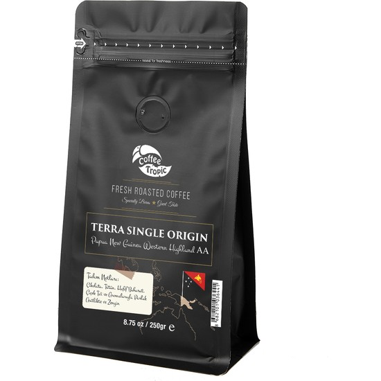 Coffeetropic Terra Single Origin Papua New Guinea Western Highland Aa 250 Gr