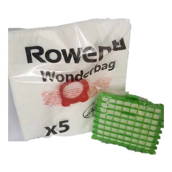 Rowenta Silence Force Hepa Filtre + Wonderbag Toz Torbası