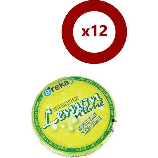 Areka Şeker Limonlu 12'Li Set