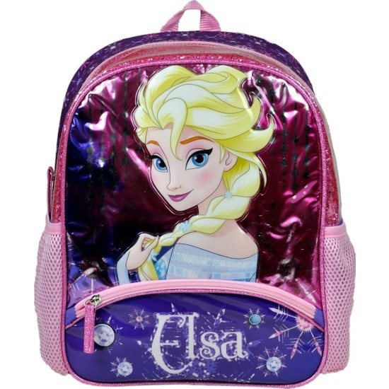 Disney Frozen Simli İki Bölmeli Anaokulu Çantası - Hakan 96422