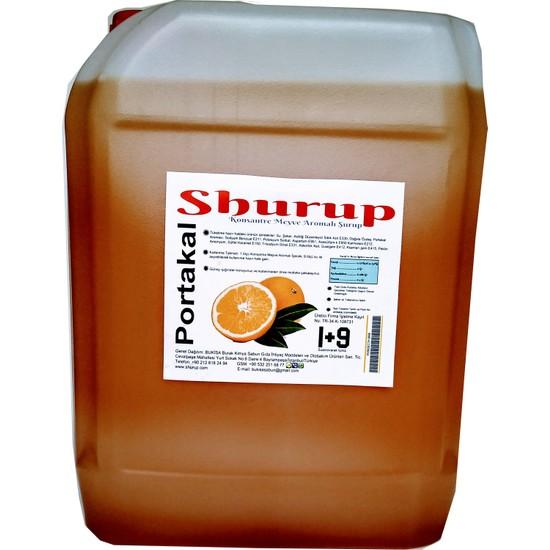 Shurup Konsantre Meyve Aromalı İcecek 6 kg Portakal