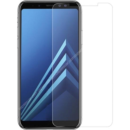 Notebookuzman Samsung Galaxy A6 Plus Kırılmaz Ekran Koruyucu Temperli Cam