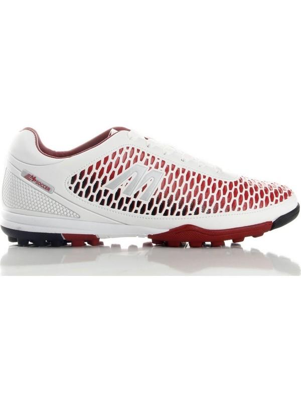 Mp 191-7384 Erkek Futboll Halı Saha Ayakkabı Beyaz