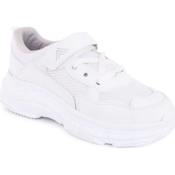 sports shoes 4ee23 08108 Muggo Kids K02 Hafif Taban Çocuk Spor Ayakkabı - 34 - Beyaz Ürün Resmi