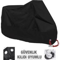 Autoen Premium Motoran Cbs 150 Balancer Arka Çanta Uyumlu Motosiklet Brandası Siyah