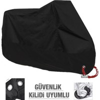 Autoen Premium Bajaj Boxer Motosiklet Brandası Siyah