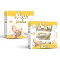 Sleepy Sensitive Islak Mendil (6 x 50 Yaprak)